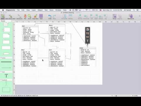 31 SRS Class Diagram (Restaurant Management System)