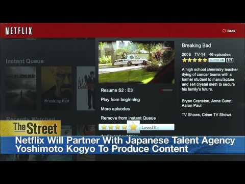 Video Streaming Service Provider Netflix to Launch in Japan