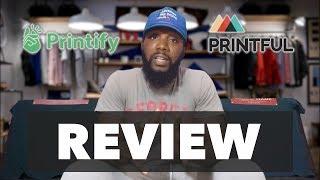 Printify Vs. Printful Review ( After 1 Wash )