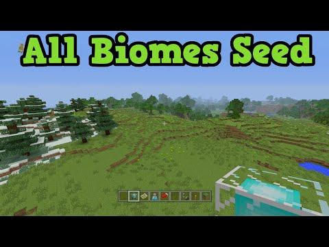 Minecraft Xbox 360 + PS3 All Biomes Seed - Ready For TU24