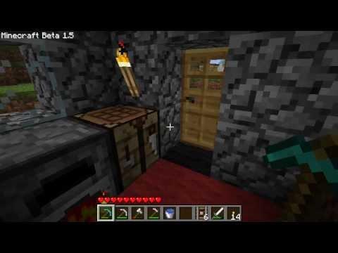 Minecraft Tutorial - How To Make Detector Rails