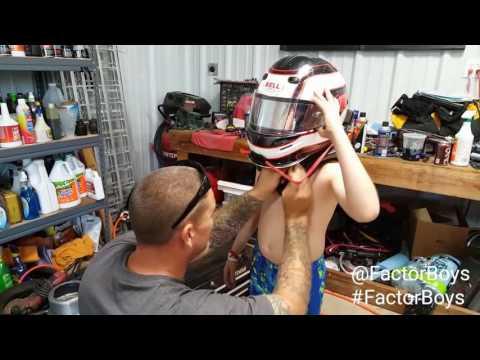 Factor Boys OKLAHOMA Drive Daddy's 600 Micro Sprint Race Car!