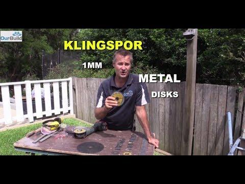 Product Review - Klingspor 1mm Metal Blades