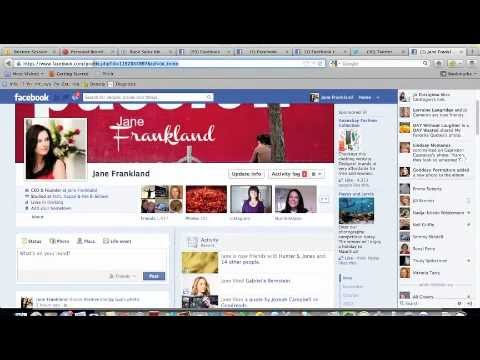 Facebook Tip - How to Post from Facebook to Twitter