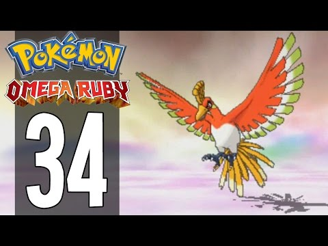 Pokemon Omega Ruby - Part 34 - Catching Ho-Oh (Gameplay Walkthrough)