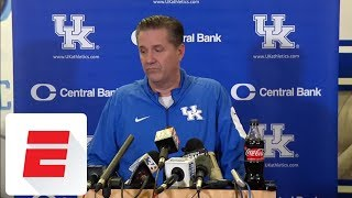 John Calipari not commenting on NCAA allegations | ESPN