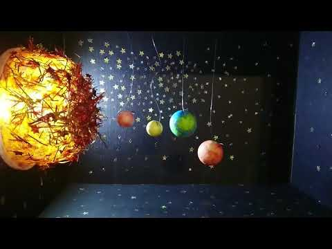3D DIY School science project, Solar system or Planets!