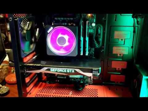 AMD Ryzen 7 2700X ROG Time Lapse PC Build