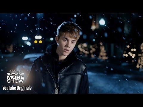 Ellen Is in Justin Bieber's 'Mistletoe'