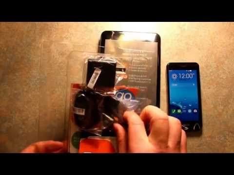 Unboxing Asus PadFone X Mini Phone Tablet AT&T GoPhone