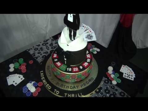 Casino Royael 21st Birthday Cake
