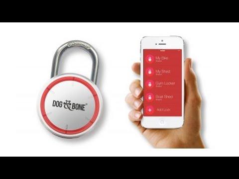 Dog & Bone LockSmart Bluetooth Keyless Padlock