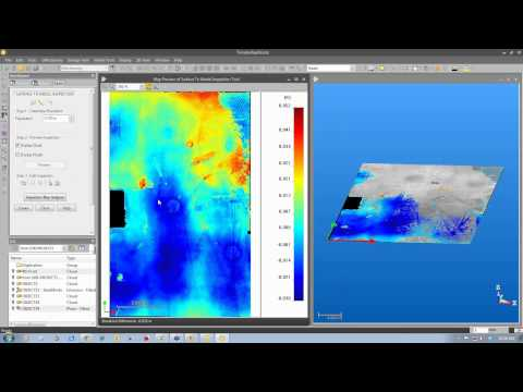 Laser Scanning a Floor to Measure Flatness and Level with Trimble RealWorks