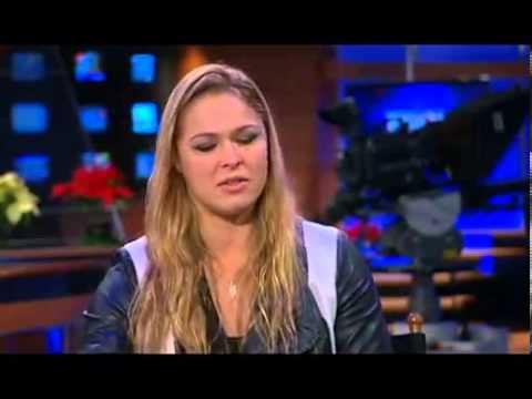 Ronda Rousey Talks Kardashian, Cyborg and Gina Carano