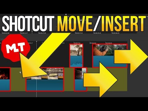 Shotcut Fastest Way to Insert & Move Multiple Clips (Multi-Select Workaround Tutorial)