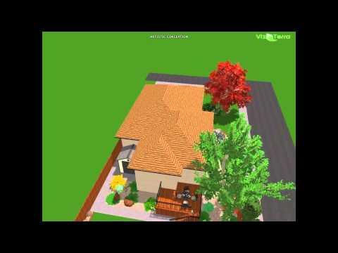 new home landscape design by Dino's Landscape & Design