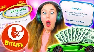 Download 💸💰MILLIONAIRE IN FIRST EVER GAME?!💰💸 (Bitlife #1!) Video