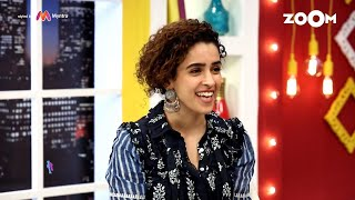 Sanya Malhotra gives feedback to Entertainment Journalists on asking better questions | Exclusive