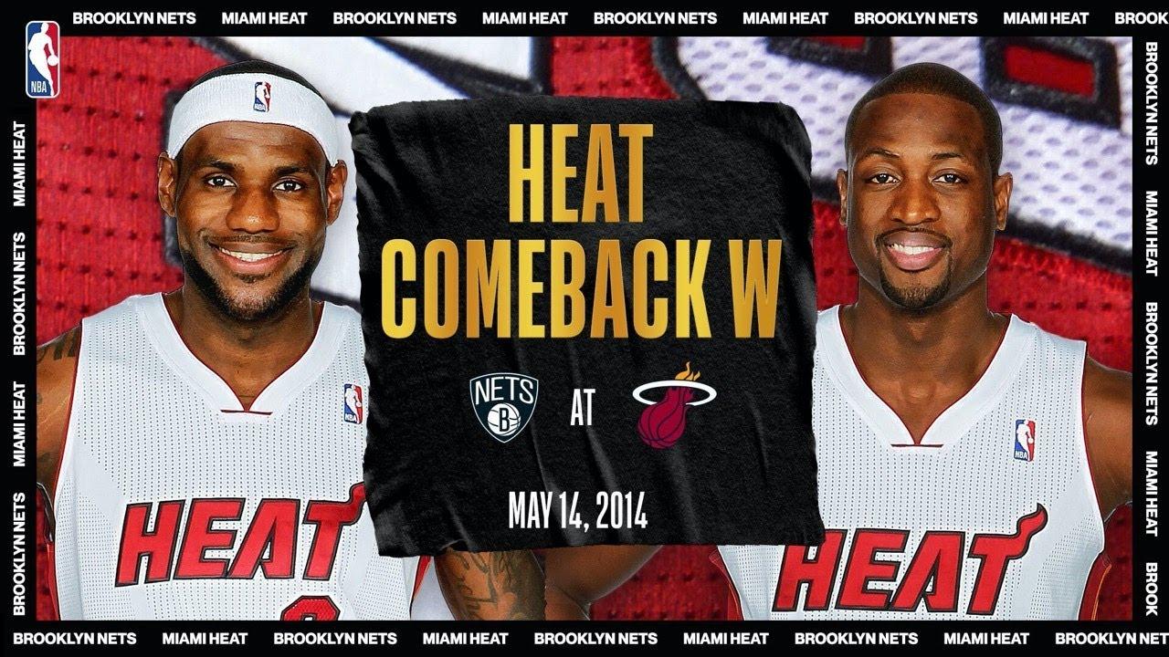 LeBron & Wade Lead HUGE Comeback | #NBATogetherLive Classic Game
