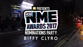 Biffy Clyro talk new music at the Nikon Presents the VO5 NME Awards Nominations Party 2017