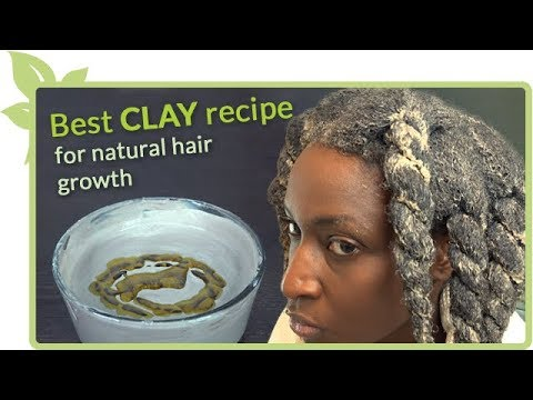 Best CLAY recipe for natural hair growth DETAILED INSTRUCTIONS