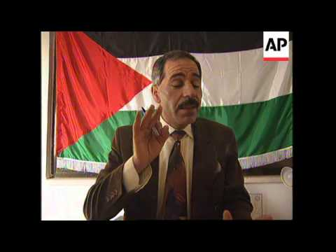 WEST BANK/GAZA: PALESTINIAN CANDIDATES REGISTER FOR ELECTIONS