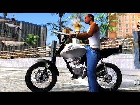 GTA San Andreas - Honda CG Titan 150 Stunt Imitacion EnRoMovies