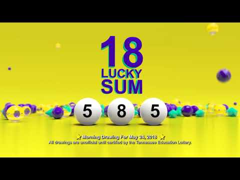 Tennessee Lottery Morning_C3_C4_LS 05/24/2018