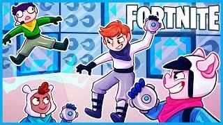 *NEW* SPIKEY STADIUM IMPULSE MINI GAME in Fortnite: Battle Royale! (Fortnite Playground Custom Game)