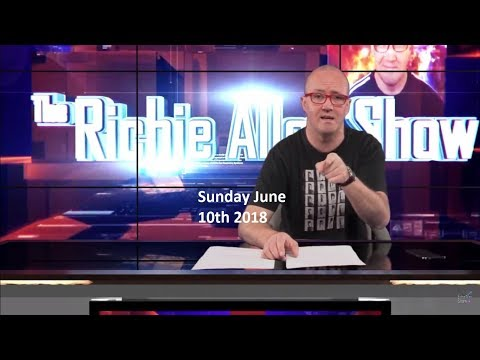Sunday View On richieallen.co.uk For Sunday June 10th 2018