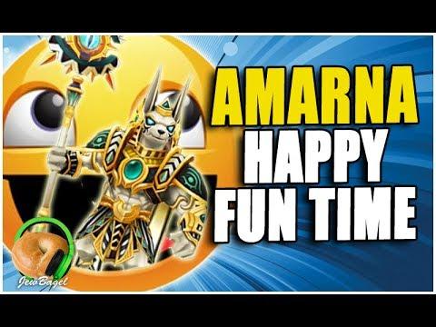 SUMMONERS WAR : Amarna Happy Fun Time! (Guild War, Dragons B10, Necro B10, Rift of Worlds)