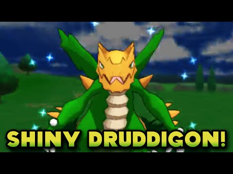 FRIEND SAFARI SHINY! - Shiny Druddigon Friend Safari (973 Friend Safari Encounters) - Pokemon XY FS
