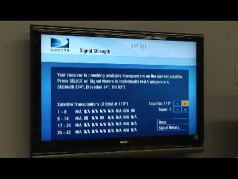 TV & Electronics : DIRECTV Installation Troubleshooting
