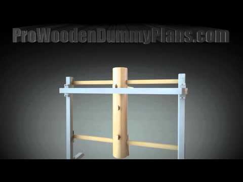 Pro Wing Chun Wooden Dummy Plans 2013