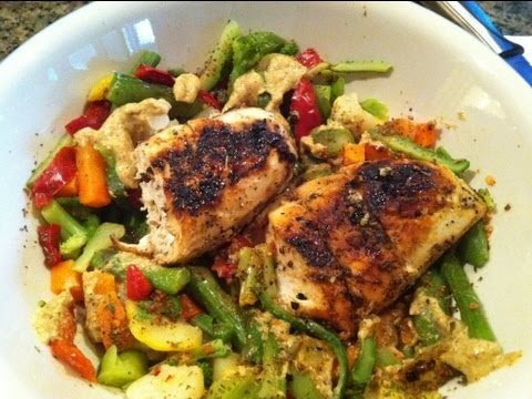 Easy Bodybuilding Cutting Meal Example