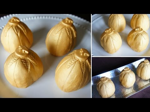 Golden Dragon Egg Cakes (from Harry Potter and the Goblet of Fire)