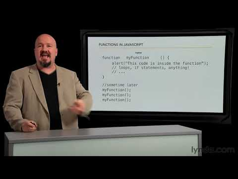 Computer programming: How to write code functions | lynda.com tutorial