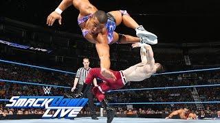 American Alpha debuts against The Vaudevillains: SmackDown Live, Aug. 2, 2016