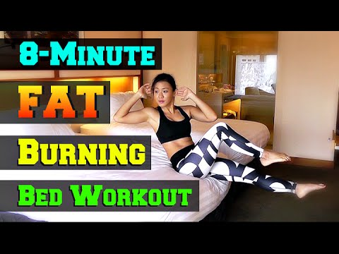 8-Minute Fat Burning BED Workout (Short & Effective!)