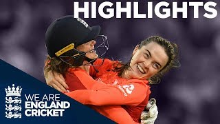 England v Australia Vitality Women's 3rd IT20 - Highlights | The Women's Ashes 2019