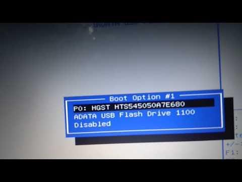 Cara Masuk BIOS Laptop Asus X453S Plus Setting