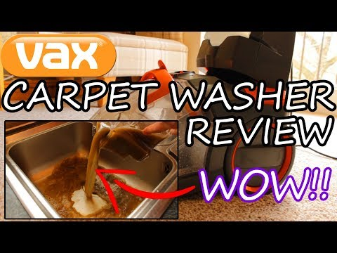 Vax Rapide Ultra 2 Carpet Cleaner / Washer Review & Demonstration (Vax W90-RU-P)