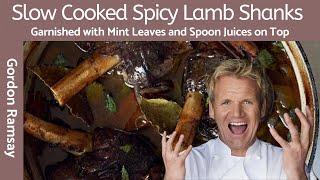 Gordon Ramsay Slow Cooked Fiery Lamb