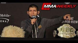 Khabib Nurmagomedov Defends His Brawl with Conor McGregor's Team at UFC 229
