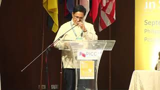Hermogenes Esperon, Jr. speaks at ASEAN conference on peace and violent extremism