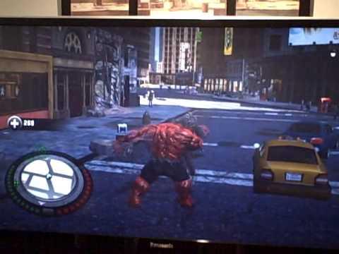 Red Hulk Gameplay #4 (xbox 360)