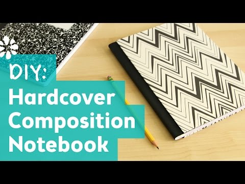DIY Hardcover Composition Notebook | Sea Lemon