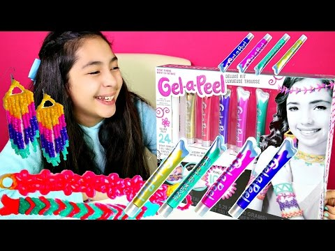 DIY JEWELRY Make Your Own Earrings Bracelets and More with Gel a Peel |B2cutecupcakes