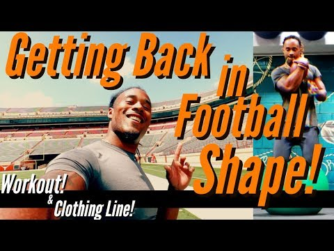 College football Workout! Grind never stops! | + Clothing Line Update