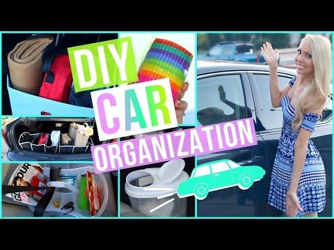 DIY Car Organization Ideas!